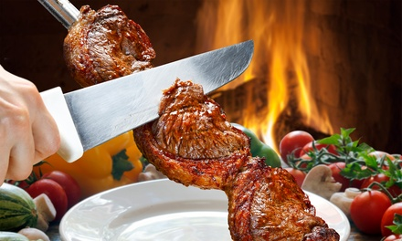 AllYouCanEat Lunch or Dinner Rodízio Buffet for One or Two at Terra Brazil Brazilian Rodízio