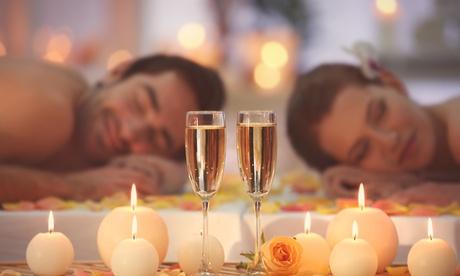 Ganzkörper-Massage-Arrangement mit Sektempfang und Fußbad für 2 Pers. bei Silah Thai Massage ohne Ortsangabe