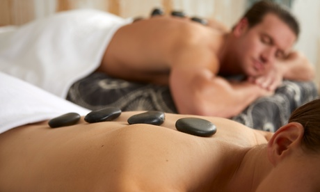 Massage with Hot Stones, Aromatherapy, and Body Scrub at Diamond Massage (Up to 50% Off). Two Options Available.