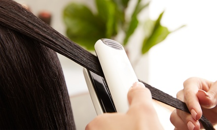 Wash, Cut and Blow-Dry with Optional Half Head Highlights at LÀ Hair @ Kingsley Hair (Up to 69% Off)