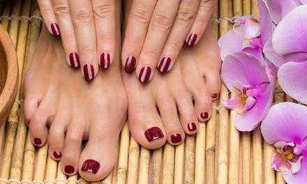 Manicure e pedicure estetica a 17,90€euro