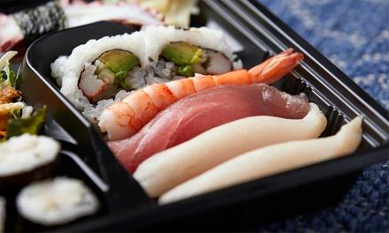 Sushi box da 40 o 60 pezzi