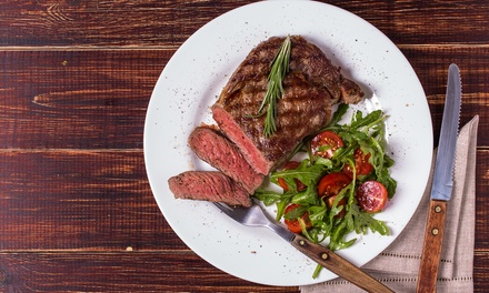 10oz Sirloin Steak Meal or Choice of Main Course for Two at Reeds Restaurant (Up to 33% Off)
