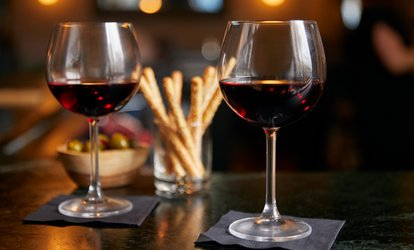Wine and Hors D'oeuvres for One, Tow, or Four at The Artists Showplace Gallery (Up to 69% Off)