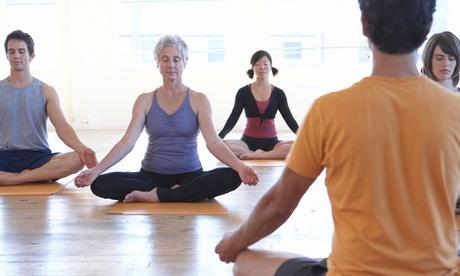 75 Min. Hatha-Yoga-Kurs bei Yoga mit tibetischen Klangschalen