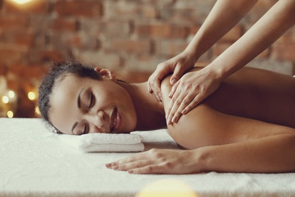60-Minute Signature Massage or Signature Hydrating Facial at Enchanteria Day Spa (Up to 41% Off)