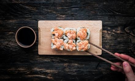 Sushi box d'asporto: 43 o 86 pezzi