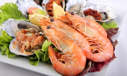 $49.90 for AllYouCanEat Seafood Buffet for One Person at Baygarden Restaurant Up to $85 Value