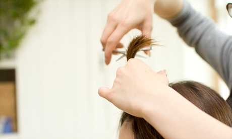 Haircut, Shampoo, and Conditioning Treatment with Blow Dry or Hair Perm at Episode Salon (Up to 65% Off)