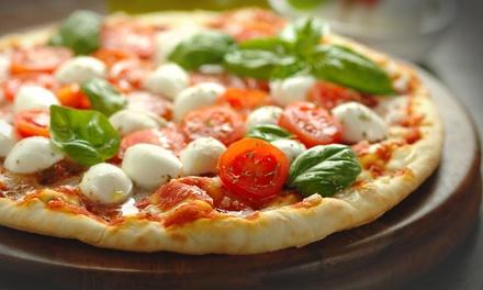 Menu pizza con dolce e birra a 19,90euro