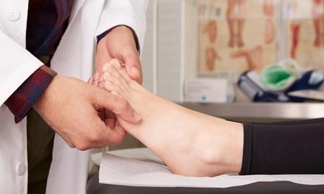 Fußreflexzonen-Massage in der Praxis für Physiotherapie und medizinische Fitness Annekathrin Hinz