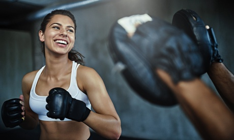 16 Kickboxing or Self-Defense Classes at B.R. Krav Maga & Kickboxing (Up to 83% Off)