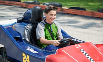 Up to 26% Off on Go-Kart Racing (Ride / Experience) at Purple Cow Soft Serve @ Appleland Raceway Park