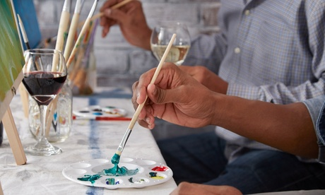 BYOB Paint and Sip for Two or Four at Sip and Paint (Up to 47% Off)