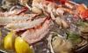 Plateaux de fruits de mer pour 2