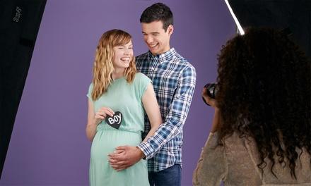 Sesión de fotos en estudio de embarazo o bebé desde 29,95 € en Addaestudio