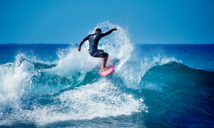 90 minutos de clases de surf para 1, 2 o 4 personas con Baldaio Surf House (hasta 54% de descuento)