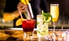 Aperitivo con cocktail e assaggi