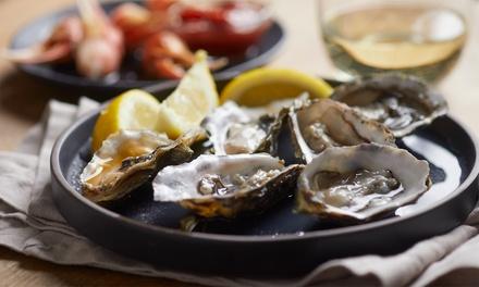 Menu con ostriche, crudi e cotti di pesce e 2 calici di Prosecco per una o 2 persone al ristorante Oyster & Samba