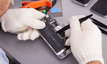 iPhone Screen Repair and More at Max Wireless and Cellphone Repair (Up to 75% Off). Nine Options Available.