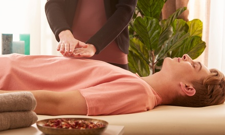One or Three Reiki Sessions at Dharma Reiki (Up to 61% Off)