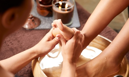 Foot Spa and Hand Mask Package: Premium for 1 ($15) or Luxury for 2 People ($49) at The Little Gem Cafe Spa Massage
