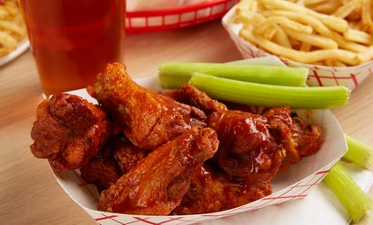 $14 for $20 Value Towards Food and Drink for Two or More at Hurricane Sports Grill