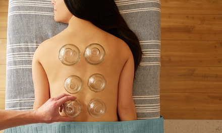 One Cupping Session and Optional Auricular Therapy at Elegant Healing (Up to 62% Off)
