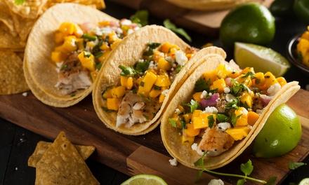 Menú para 2 con entrantes, degustación, postre y jarra de cerveza o bebida desde 19,95 € en Restaurante El Mexicano