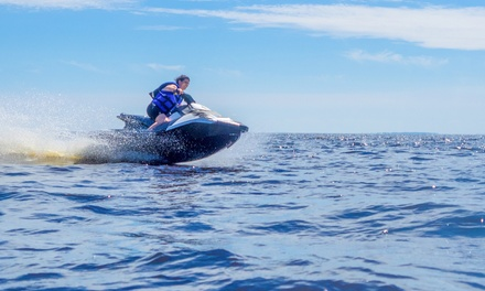 30-Minute or One-Hour Jet Ski Rental for One or Two at Bjm Rentals (Up to 91% Off)