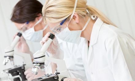 Kit de detección a elegir entre marcador tumoral de mama, cáncer de próstata, cáncer de colon o VIH con Dropsathome