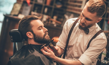 Men's Cut & Style ($15), with Beard Trim ($25) or with Hot Towel Facial Shave ($29) at House Of Lords (Up to $55 Value)
