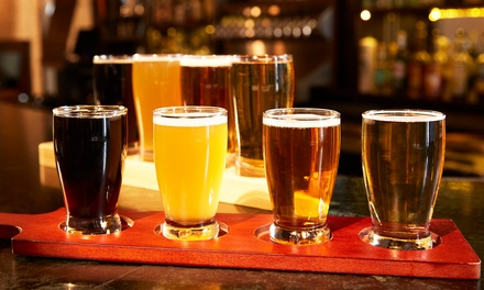Beer-Tasting Flight and a Pint Pour for Two or Four at Hubbleton Brewing Company (Up to 39% Off)