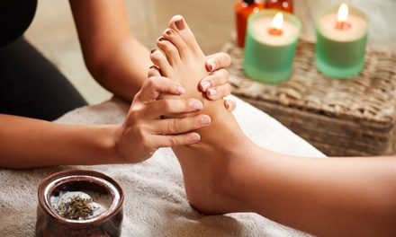 Pamper Package with Reflexology: 50 $39 or 90 Minutes $69 at Myotherapy and Acupuncture Clinic Up to $135 Value