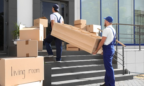 Two or Four Hours of Moving Services with Two Movers and a Truck from Arizona's Best Movers (Up to 39%...