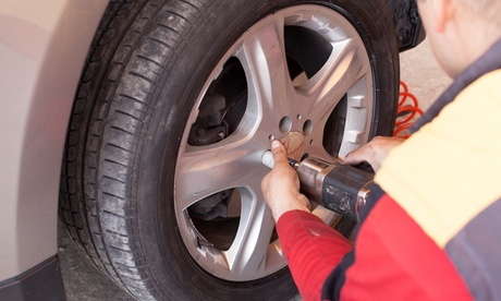 $43 for Four-Wheel Alignment at Grant Firestone ($90 Value)