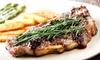 8oz Sirloin Steak Meal