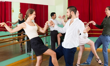 groupon.com - One or Two Months of Unlimited Ballroom Group Lessons at Vintage Ballroom (Up to 75% Off)