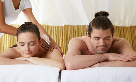 Masaje en pareja de 50 minutos por 29,95 € en Goldtriz Estetic Center