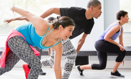$19 for FourWeek Unlimited Group Training at Train With The Girls, Three Locations Up to $140 Value