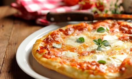 Menu a scelta tra una o 4 pizze, teglia o pizza a metro con bibite e fritto, da Pizza Elite. Asporto o co