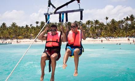 1 tour de parachute ascensionnel pour 2 personnes à 74,90 € avec Bandol sports nautiques