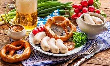 Menu bavarese gourmet per 2, 4 o 6 persone al Bayerisch Pub (sconto fino a 52%)
