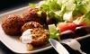 Menu arabo vegetariano