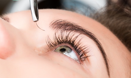 One Full Set of Eyelash Extensions with Optional Fill at Pik Beauty (Up to 60% Off)