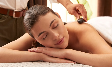 OneHour Thai or Hot Stone Massage for One $45 or Two People $88 at A Touch Of Thailand Up to $150 Value