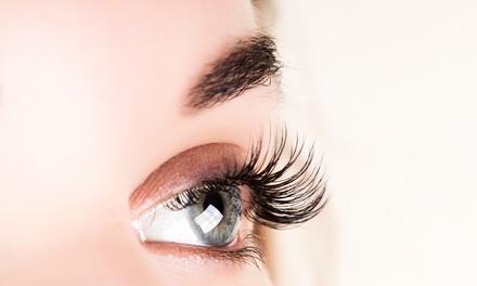 Extensión de pestañas pelo a pelo natural sin límite con opción a diseño o tinte de cejas hasta 79 % de descuento
