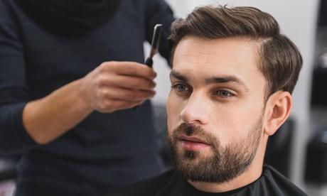 Sesión de corte de pelo para hombres con ritual de barba en Daniel Jaime Barber Shop (hasta 50% de descuento)