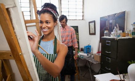 Two-Hour BYOB Painting Class for One or Two at Masterpiece Mixers (Up to 35% Off)