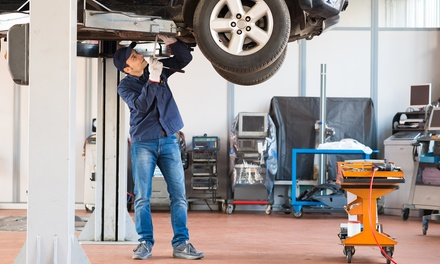 Major Car Service and Inspection for One $69 or Two Cars $138 at GU Motors Up to $480 Value